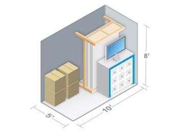 Blue Mountain Storage Unit 5x10